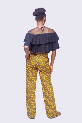 African Wax Womens dress Pants