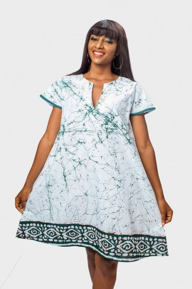 Batik Tunic fre flow Dress